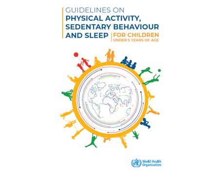 Recomendações de Atividade Física, Comportamento Sedentário e Sono para Crianças < 5 anos